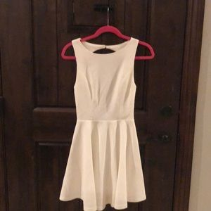 Open-back Fit and flare dress